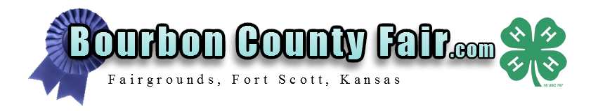 Bourbon County Fair and Fairgrounds in Fort Scott, Kansas