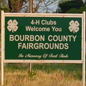 Bourbon County Fairgrounds Logo
